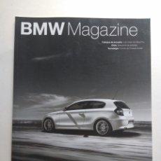 Coches: BMW MAGAZINE VERANO 2007 SERIE UNO M3 SAUBER F1 ENDURO Z1. Lote 130732894