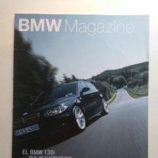 Coches: BMW MAGAZINE DICIEMBRE 2005 SERIE 3 X3 M3 GT3 Z4 ROADSTER NICK HEIDFIELD F800S GLAS 3000 V8. Lote 130733113