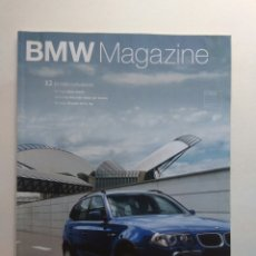 Coches: BMW MAGAZINE MARZO 2003 X3 X5 WILLIAMS FÓRMULA 1 SERIE 3 Y 5. Lote 130733524
