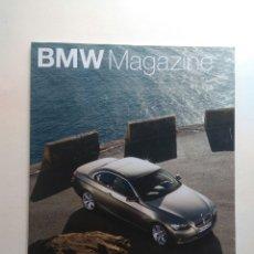 Coches: BMW MAGAZINE PRIMAVERA 2007 SERIE 3 NICK HEIDFIELD SAUBER F1 SEBASTIAN VETTEL GLOCK 328 CABRIO 1938. Lote 130733683