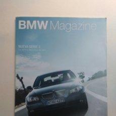 Coches: BMW MAGAZINE ENERO 2005 M6 WILLIAMS F1 MARC WEBBER NICK HEIDFIELD KLAUS HEIMERL. Lote 130734070