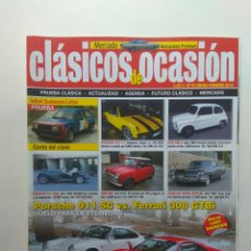 Coches: CLASICOS DE OCASIÓN N53 TALBOT 180 SUMBEAM PORSCHE 911 FERRARI 308 CX PALAS DODGE 3700 SEAT 131 132. Lote 130775700