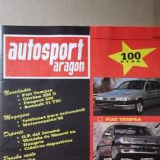 Coches: REVISTA AUTOSPORT ARAGON MAYO 1990 GP DEL JARAMA VICTORIA MAUREL HUNGRIA. Lote 131025548
