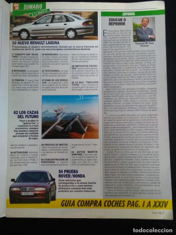 Revista Auto Via N 47 Aston Martin Pinguinos 94 Buy Old Car