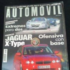 Coches: REVISTA AUTOMÓVIL NÚMERO 281 JUNIO 2001. Lote 131686250