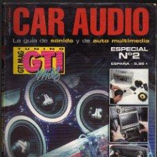 Auto: REVISTA GTI MAG (CAR AUDIO) ESPECIAL SONIDO Nº 2 - 188 PÁGINAS - (PESO: 477 GRAMOS). Lote 132458422