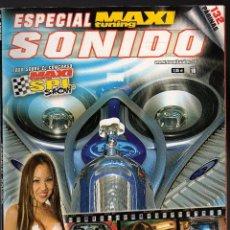 Auto: REVISTA MAXI TUNING ESPECIAL SONIDO (MAYO, 2004 · PESO: 308 GRAMOS). Lote 132461994