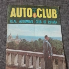Coches: REVISTA AUTO CLUB.MARZO 1968. Lote 132792146