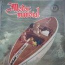 Coches: REVISTA MOTOR MUNDIAL 57 MODELOS AMERICANOS 1949 CAMION WHITE MOTOCICLETAS BRITÁNICAS - PANAMERICANA. Lote 132813734