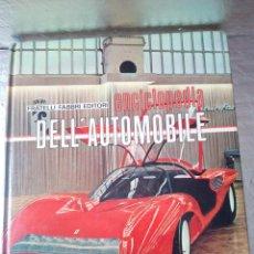 Coches: ENCICLOPEDIA DELL AUTOMOBILE-11 TOMOS-+1000 PAG-FABRRI- PININFARINA-ITALIANO-1968. Lote 133568782