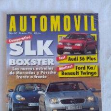 Autos - REVISTA AUTOMOVIL Nº227/MERCEDES SLK-PORSCHE BOXSTER/PORTER COLIN McRAE SUBARU IMPREZA. - 134312802