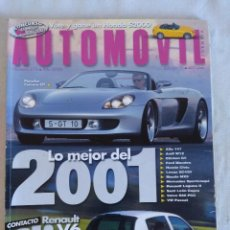 Coches: REVISTA AUTOMOVIL Nº274/PORSCHE CARRERA GT.. Lote 134313338