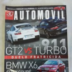 Coches: REVISTA AUTOMOVIL Nº365/PORSCHE 911 GT2 TURBO.. Lote 134327454