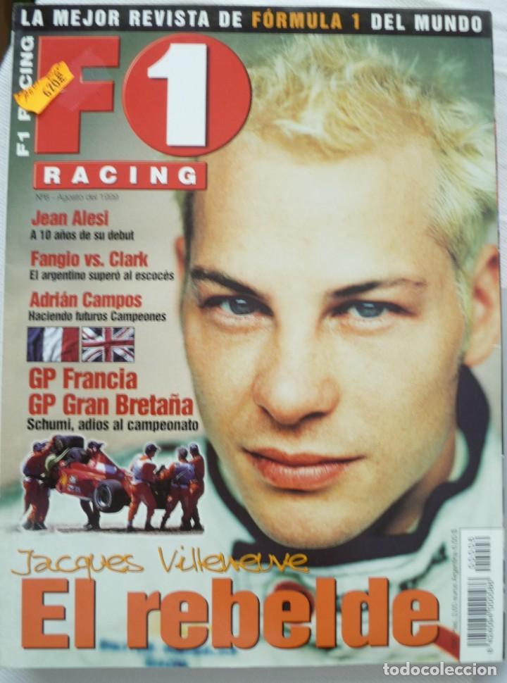 F1 RACING Nº 6 AGOSTO DE 1999 (Coches y Motocicletas Antiguas y Clásicas - Revistas de Coches)