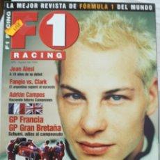 Coches: F1 RACING Nº 6 AGOSTO DE 1999. Lote 134394734