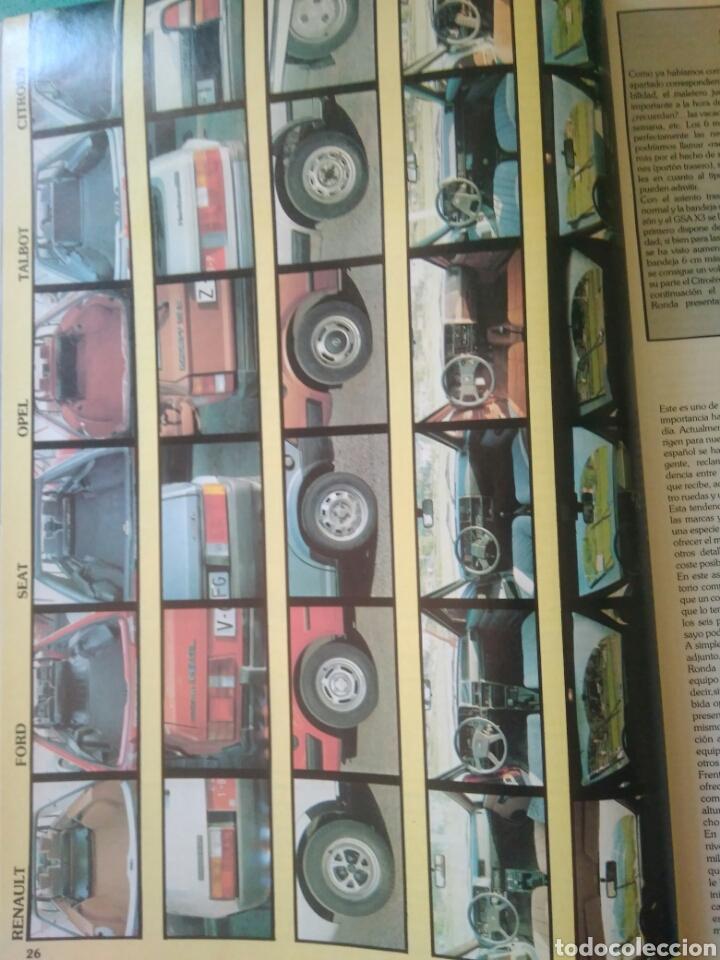 Coches: REVISTA SOLO AUTO AÑO I.OCTUBRE 1982.SEAT RONDA.RENAULT 14.KADETT.TALBOT.CITROEN Y FORD ESCORD - Foto 4 - 135324155