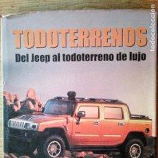 Coches: LIBRO TODOTERRENOS DEL JEEP AL TODOTERRENO DE LUJO - ANDREW CHARMAN (ENVÍO 4,31€). Lote 135950306