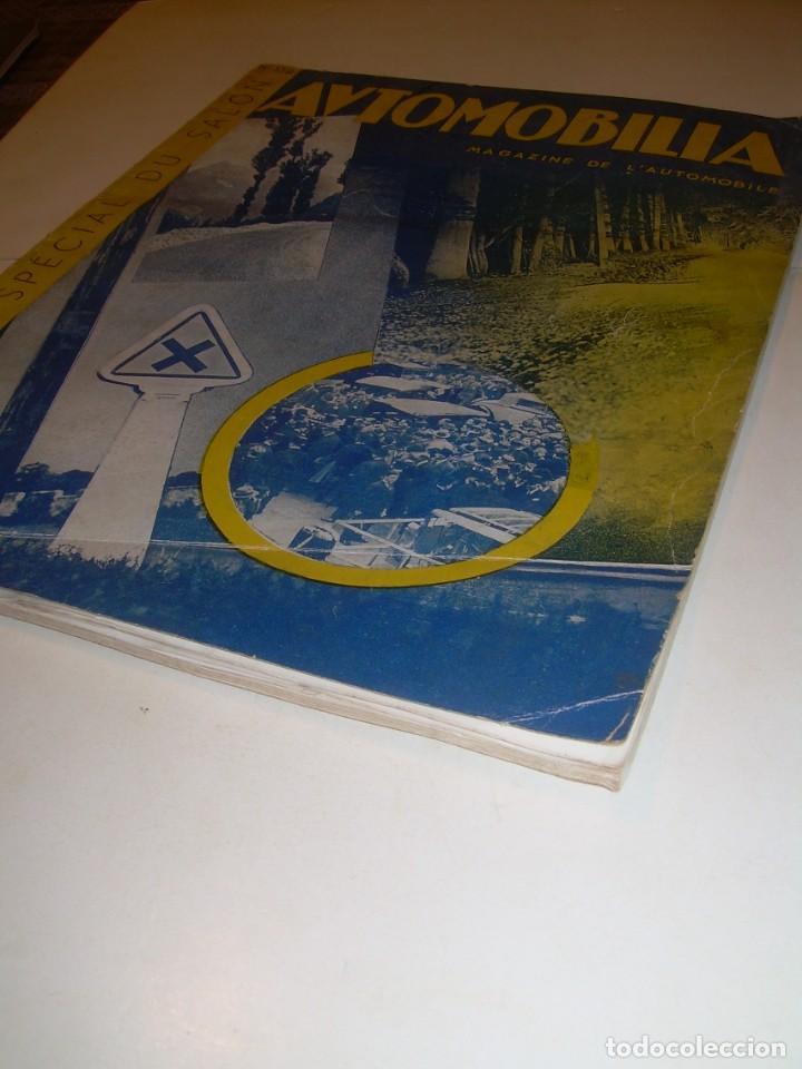 Coches: REVISTA NUMERO ESPECIAL AUTOMOBILIA...AÑO 1934...HAY MUCHAS FOTOS..VER. - Foto 2 - 136594434