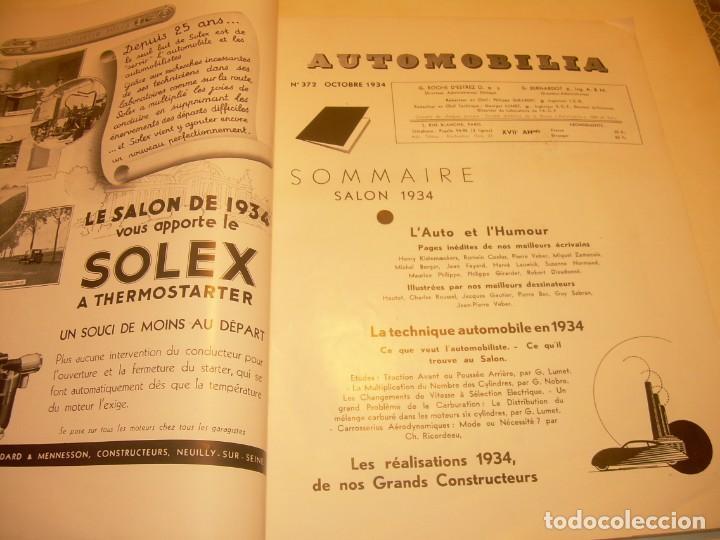 Coches: REVISTA NUMERO ESPECIAL AUTOMOBILIA...AÑO 1934...HAY MUCHAS FOTOS..VER. - Foto 8 - 136594434