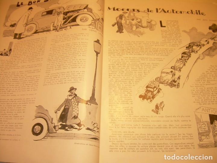 Coches: REVISTA NUMERO ESPECIAL AUTOMOBILIA...AÑO 1934...HAY MUCHAS FOTOS..VER. - Foto 13 - 136594434
