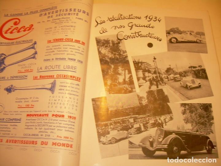 Coches: REVISTA NUMERO ESPECIAL AUTOMOBILIA...AÑO 1934...HAY MUCHAS FOTOS..VER. - Foto 20 - 136594434
