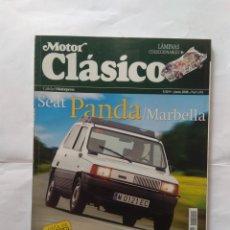 Coches: REVISTA MOTOR CLASICO Nº 245 SEAT PANDA MARBELLA PORSCHE 917 FIAT 126 TRIUMPH SPITFIRE RENAULT FREGA. Lote 136832674