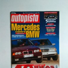 Coches: REVISTA AUTOPISTA Nº 1915 BMW 325 MERCEDES C250 FORD GALAXY SEAT IBIZA KIT CAR ROVER 400 STARLET . Lote 136847446