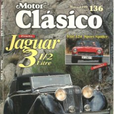 Coches: MOTOR CLÁSICO Nº136 - MAYO 1999. Lote 137173550