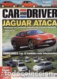 REVISTA CAR AND DRIVER 71 * JAGUAR XKR-R EVO * JAGUAR XKR * JAGUAR XJR * FERRARI F60 * 43 (Coches y Motocicletas Antiguas y Clásicas - Revistas de Coches)