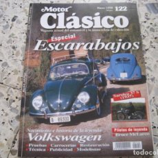 Coches: MOTOR CLASICO Nº122: VW ESCARABAJO; ETC.... Lote 137362194