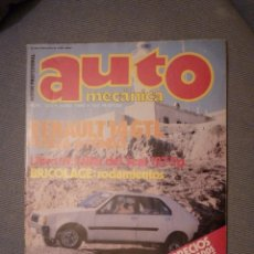 Coches: AUTO MECÁNICA Nº 123 - JUNIO 1980. Lote 137940386