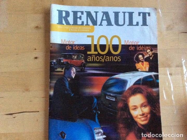 RENAULT 100 A?OS 1898-1998. ESPAÑOL/PORTUGUÉS (Coches y Motocicletas Antiguas y Clásicas - Revistas de Coches)