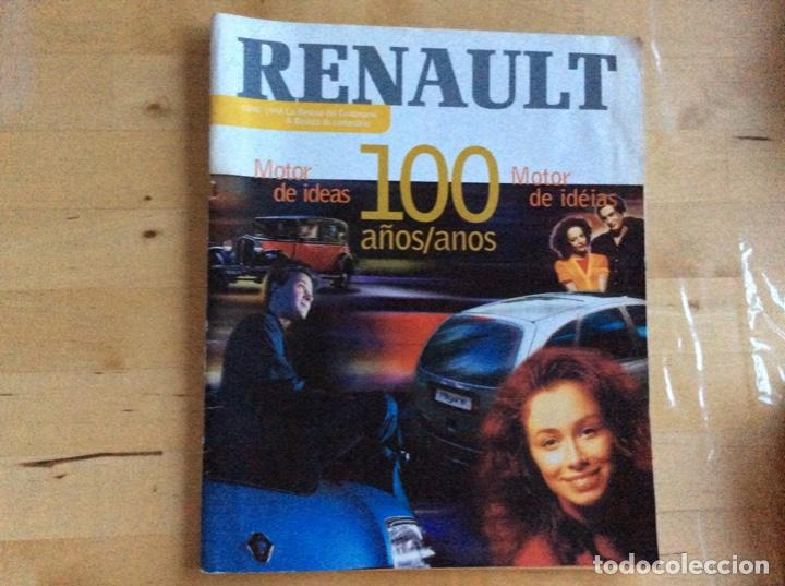Coches: Renault 100 a?os 1898-1998. Español/Portugués - Foto 2 - 138223086