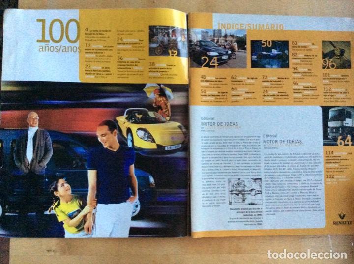 Coches: Renault 100 a?os 1898-1998. Español/Portugués - Foto 3 - 138223086