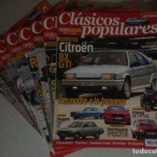 Coches: LOTE DE 8 REVISTA DE CLÁSICOS POPULARES. Lote 138232409