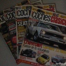Coches: LOTE DE 4 REVISTAS DE COCHES CLÁSICOS. Lote 138235189
