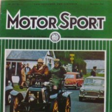 Coches: MOTOR SPORT/ VOLUME 45/ NO. 12/ THE TEESDALE PUBLISHING/ 1969/DECEMBER/ LONDON. Lote 138526958