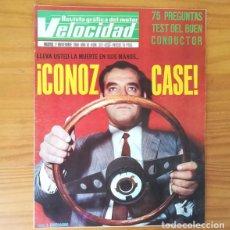 Coches: VELOCIDAD 373. 2 NOVIEMBRE 1968. TEST DEL BUEN CONDUCTOR, RENAULT 8-TS, LANCIA FULVIA.... Lote 138843434