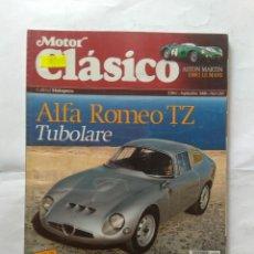 Coches: REVISTA MOTOR CLASICO Nº 260 ALFA ROMEO TUBOLARE ZAGATO RENAULT 4CV CITROEN GS SEAT 600 1430 ASTON . Lote 138962558