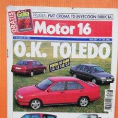 Coches: MOTOR CLÁSICO Nº 397 - JUNIO 1991 - O.K. TOLEDO. Lote 139718046