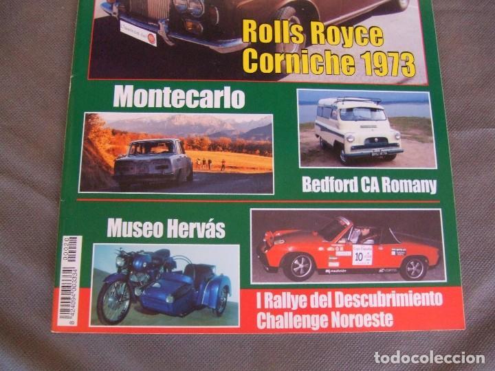 Coches: CLASICOS DEL MOTOR Nº 20 AÑO 2002 ROLLS ROYCE CORNICHE/BEDFORD CA 1963/ ALFA SPIDER/RENAULT 8TS - Foto 2 - 140138446