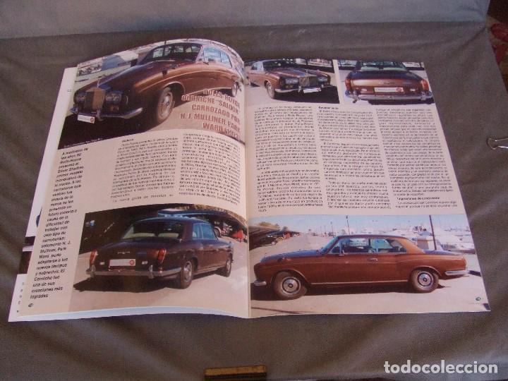 Coches: CLASICOS DEL MOTOR Nº 20 AÑO 2002 ROLLS ROYCE CORNICHE/BEDFORD CA 1963/ ALFA SPIDER/RENAULT 8TS - Foto 3 - 140138446