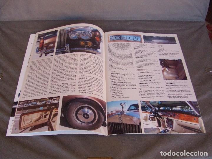 Coches: CLASICOS DEL MOTOR Nº 20 AÑO 2002 ROLLS ROYCE CORNICHE/BEDFORD CA 1963/ ALFA SPIDER/RENAULT 8TS - Foto 4 - 140138446