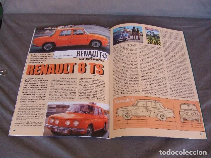 Coches: CLASICOS DEL MOTOR Nº 20 AÑO 2002 ROLLS ROYCE CORNICHE/BEDFORD CA 1963/ ALFA SPIDER/RENAULT 8TS - Foto 8 - 140138446