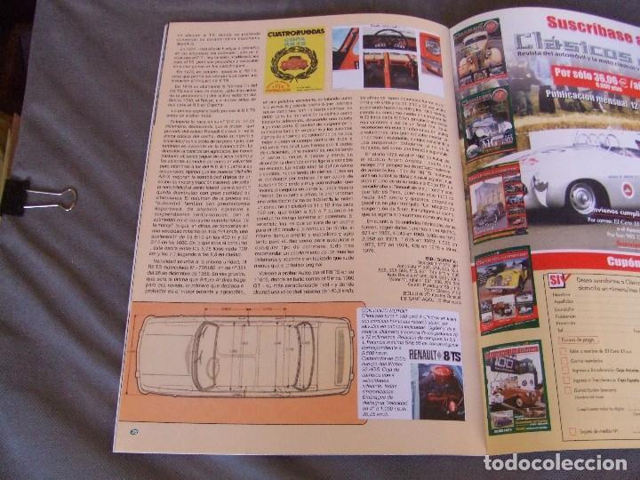 Coches: CLASICOS DEL MOTOR Nº 20 AÑO 2002 ROLLS ROYCE CORNICHE/BEDFORD CA 1963/ ALFA SPIDER/RENAULT 8TS - Foto 9 - 140138446