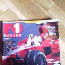 Coches: F1 RACING - REVISTA FORMULA 1 - NOVIEMBRE 2007, Nº105. Lote 141560234