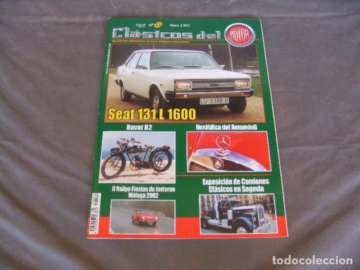 CLASICOS DEL MOTOR Nº22 AÑO 2002 SEAT 131 L 1600/DODGE DART 1966/MOTO RAVAT 1924 (Coches y Motocicletas Antiguas y Clásicas - Revistas de Coches)