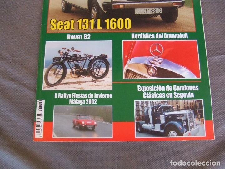 Coches: CLASICOS DEL MOTOR Nº22 AÑO 2002 SEAT 131 L 1600/DODGE DART 1966/MOTO RAVAT 1924 - Foto 2 - 142150098