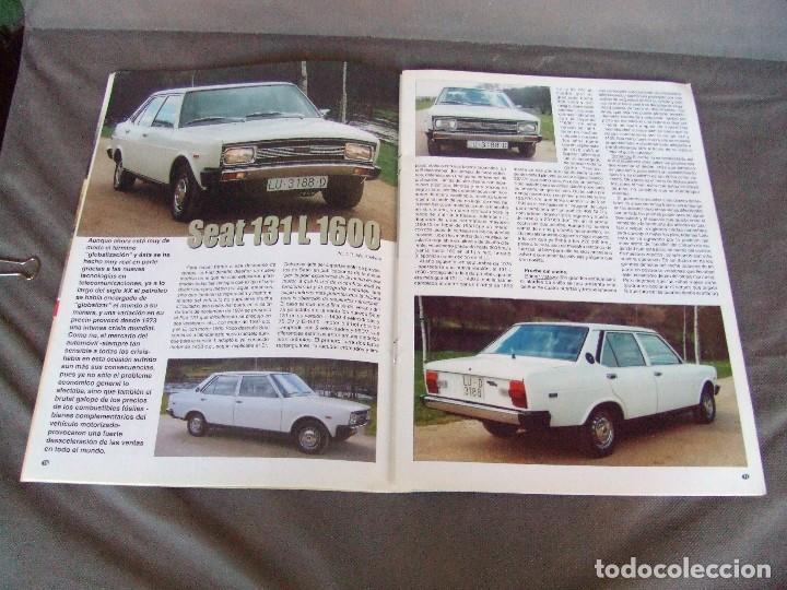 Coches: CLASICOS DEL MOTOR Nº22 AÑO 2002 SEAT 131 L 1600/DODGE DART 1966/MOTO RAVAT 1924 - Foto 6 - 142150098