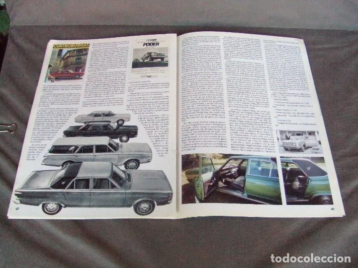 Coches: CLASICOS DEL MOTOR Nº22 AÑO 2002 SEAT 131 L 1600/DODGE DART 1966/MOTO RAVAT 1924 - Foto 10 - 142150098